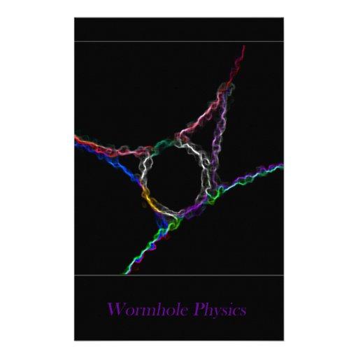 La física del Wormhole Papeleria De Diseño