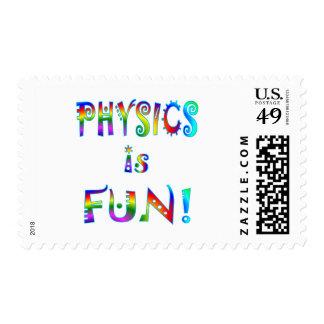 La física es diversión sello