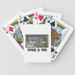 La física es experimento del gato de Phun (diversi Baraja Cartas De Poker