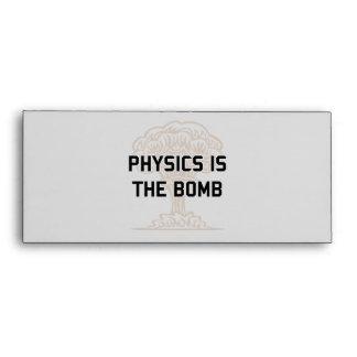 La física es la bomba nuclear