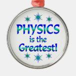La física es la más grande ornato