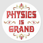 La física es magnífica etiquetas