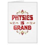 La física es magnífica felicitaciones