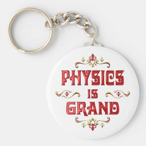 La física es magnífica llaveros personalizados