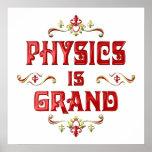 La física es magnífica poster