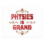 La física es magnífica tarjetas postales