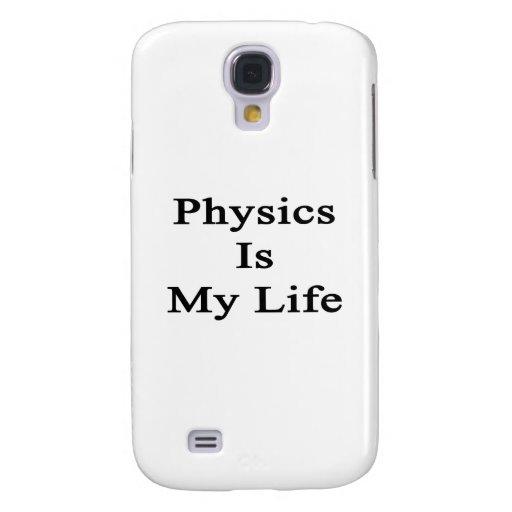La física es mi vida funda para galaxy s4