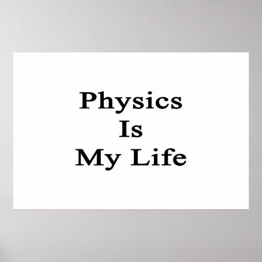 La física es mi vida impresiones
