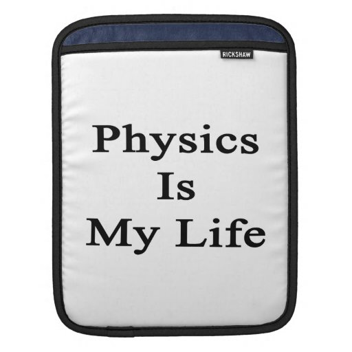La física es mi vida mangas de iPad