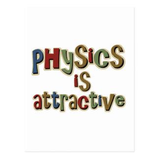 La física es retruécano divertido atractivo postal