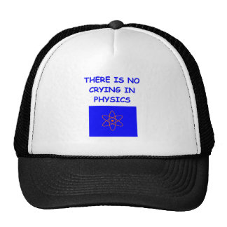 la física gorra