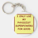 la física llavero