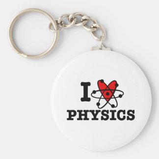 La física llavero personalizado