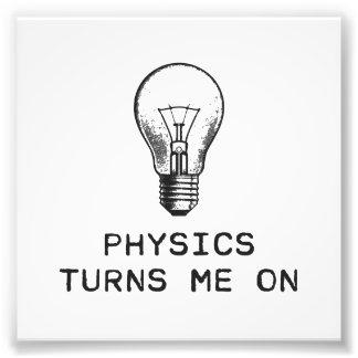 La física me gira cojinete