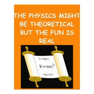 la física plantilla de membrete