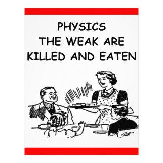 la física membrete