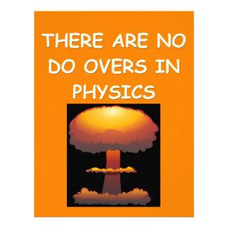 la física membrete a diseño