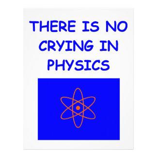 la física membretes personalizados