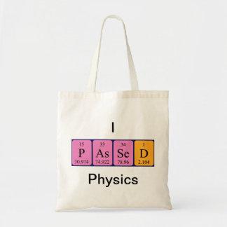 La física pasajera la bolsa de asas del nombre de
