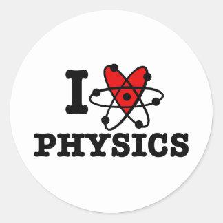 La física pegatinas