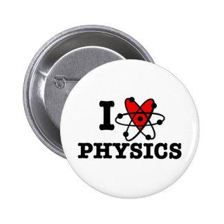 La física pin redondo 5 cm