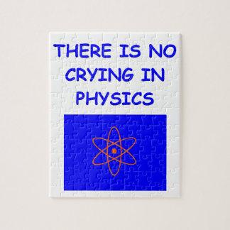 la física rompecabezas con fotos