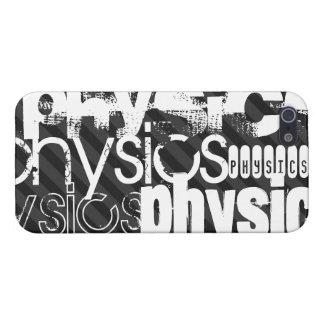 La física; Rayas negras y gris oscuro iPhone 5 Carcasas