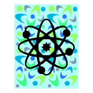 La física retra del bumerán tarjetas postales