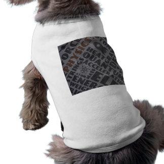 La física ropa de perro