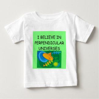 la física y el universo playera de bebé