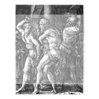 La flagelación de Albrecht Durer Tarjetas Informativas
