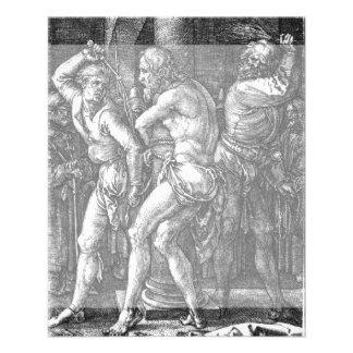 La flagelación de Albrecht Durer Flyer Personalizado