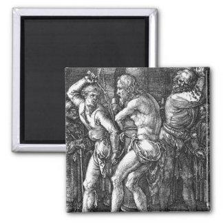 La flagelación de Albrecht Durer Imán Para Frigorifico