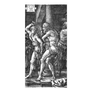 La flagelación de Albrecht Durer Tarjeta Personal