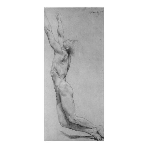 La flagelación de Cristo de Guillermo Bouguereau Tarjetas Publicitarias A Todo Color