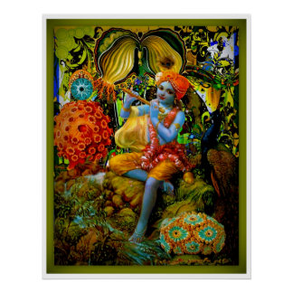 La flauta de Krishna Póster