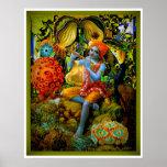 La flauta de Krishna Posters