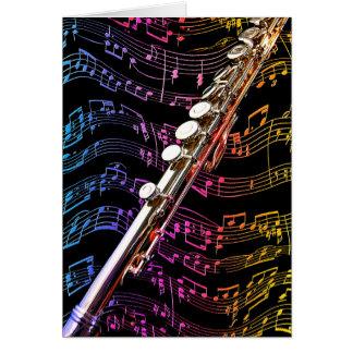 La flauta es mi Passion_ Tarjeta