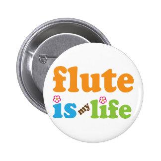 La flauta es mi vida pin