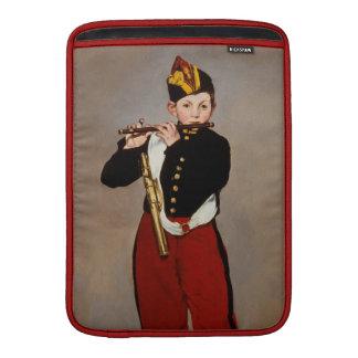 La flauta Playert del pífano de Monet Fundas Para Macbook Air