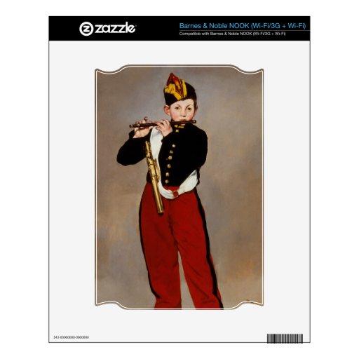La flauta Playert del pífano de Monet NOOK Skin