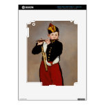 La flauta Playert del pífano de Monet iPad 3 Pegatinas Skins