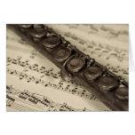 La flauta vieja felicitación