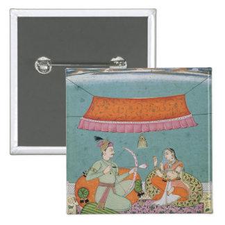 La flecha de Lotus, Bilaspur, c.1750 Pin