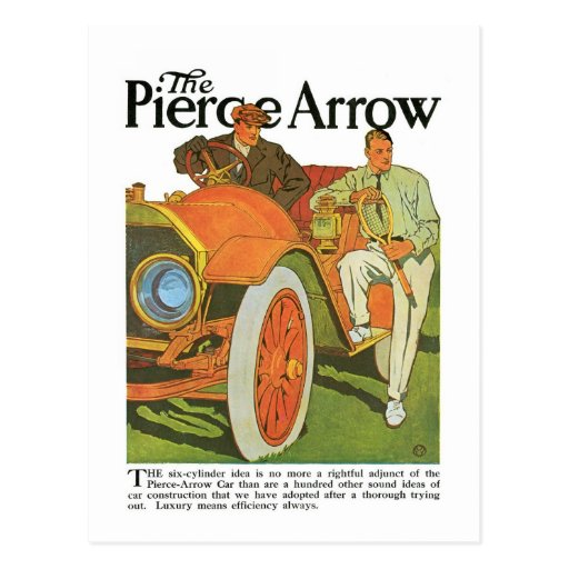 La flecha de Pierce Tarjetas Postales
