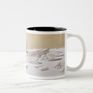 La Fleche at Kil-Bouroun invaded by ice, from 'Nos Two-Tone Coffee Mug