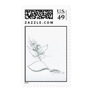 La Fleur Tranquille Stamps