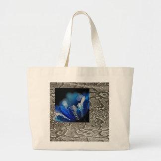 La flor azul bolsas