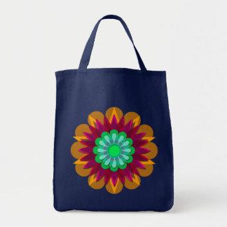 La flor bonita 2 de la lluvia bolsa de mano