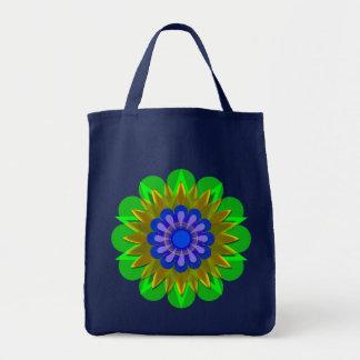 La flor bonita 3 de la lluvia bolsa de mano